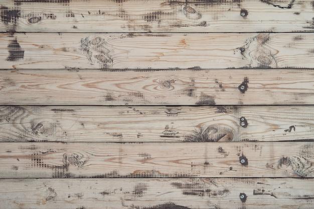 Vieux motif de fond en bois horisontal rustique