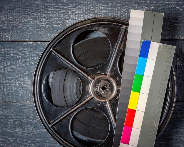 Le vieux moulinet avec le film