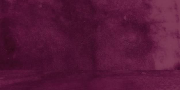 Vieux mur de béton minable texture avec mur de studio en béton violet fissuré abstrait grunge...