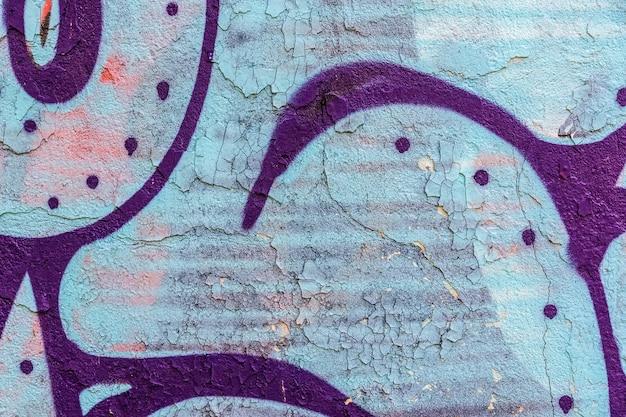 Vieux mur de béton peint