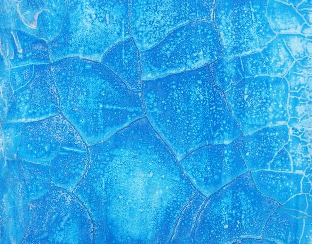 Vieux mur bleu abstrait
