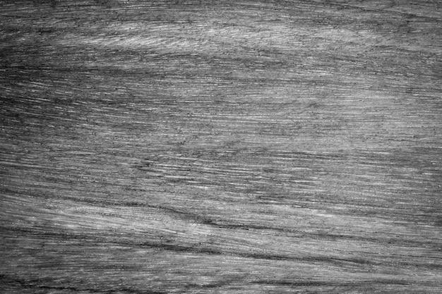 Vieux mur en bois avec fond de texture en bois vintage noir et blanc