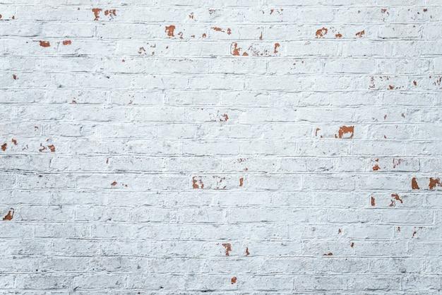 Vieux mur de briques blanches sans soudure de fond. texture vintage de maçonnerie légère.