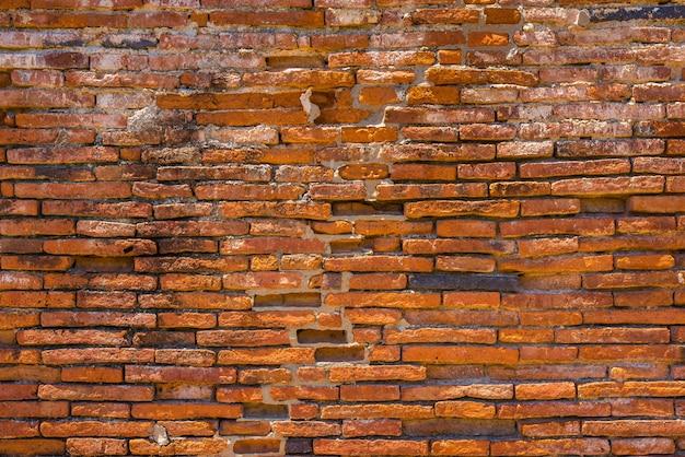 Vieux mur de briques dans un fond