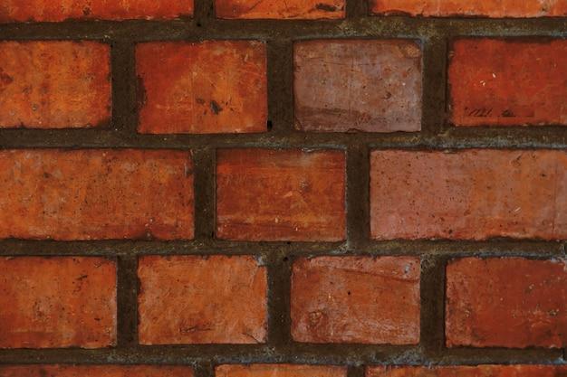 Vieux mur de briques fond de mur de brique large horizontale. maison vintage