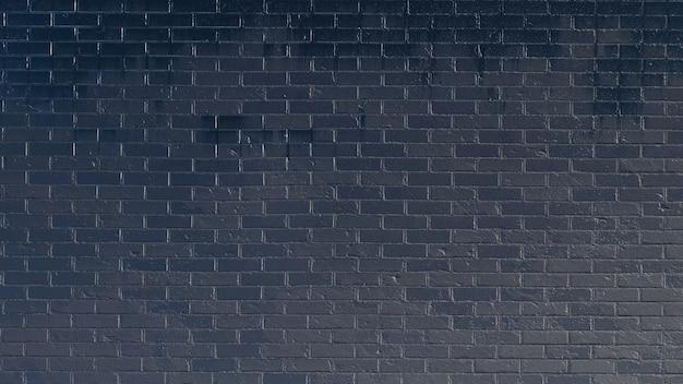 Vieux mur de briques minables noir texture maçonnerie panoramique grunge background