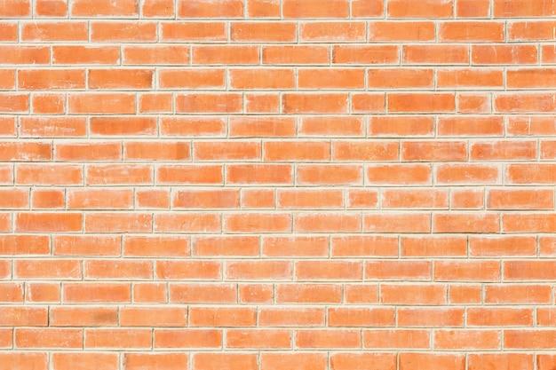 Vieux mur de briques orange - fond