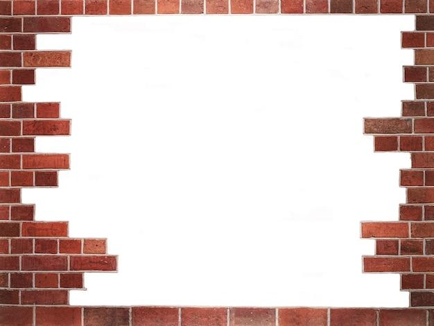 Vieux mur de briques rouges grunge texture, bloc, image d'arrière-plan