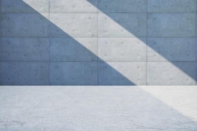 Vieux mur de ciment gris foncé rugueux grunge texture mur de lumière et d'ombre