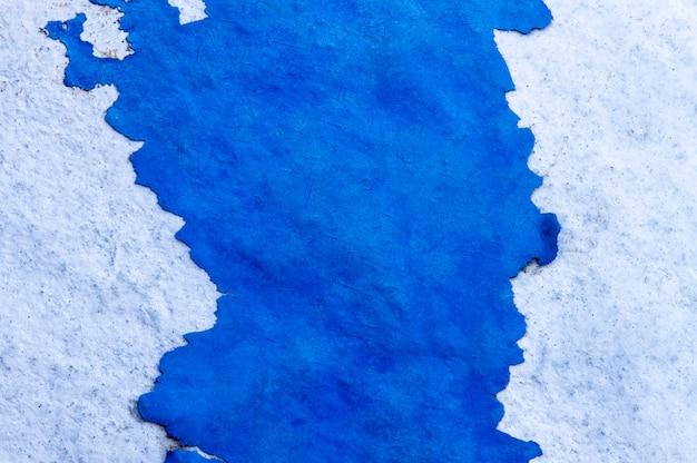 Vieux mur de craquage bleu turquoise texture
