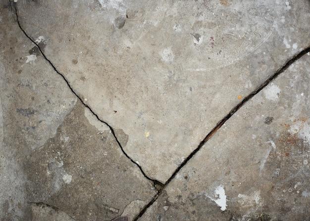 Vieux mur gris broke concrete