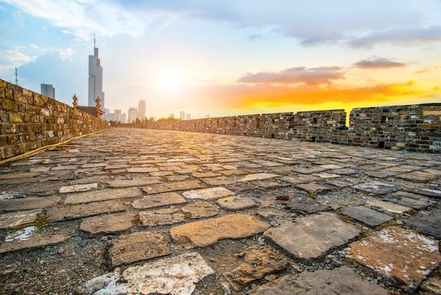 Le vieux mur de nanjing