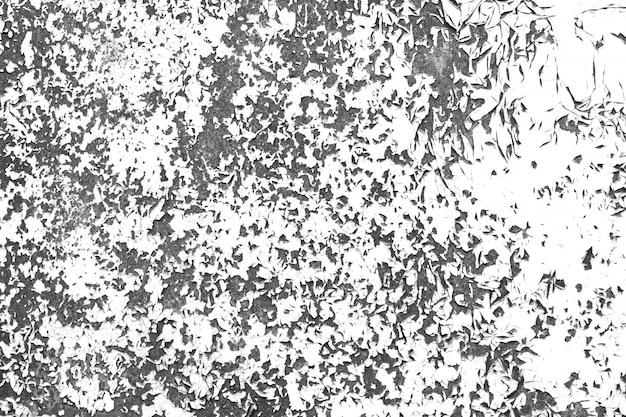 Vieux mur peint contraste texture noir et blanc