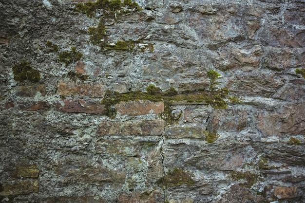Vieux mur de pierre de fond