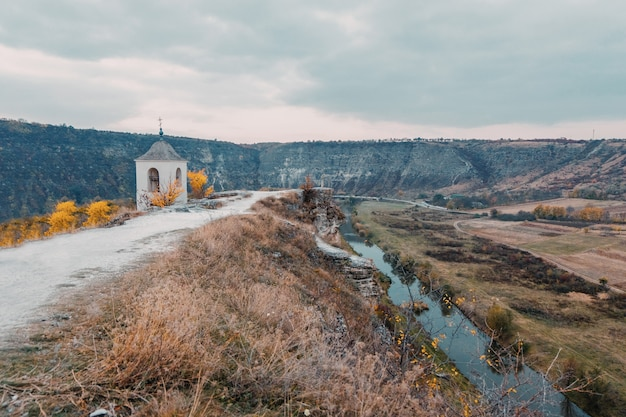 Vieux orhei en moldavie