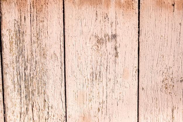 Vieux panneaux de bois brun grunge utilisés comme arrière-plan