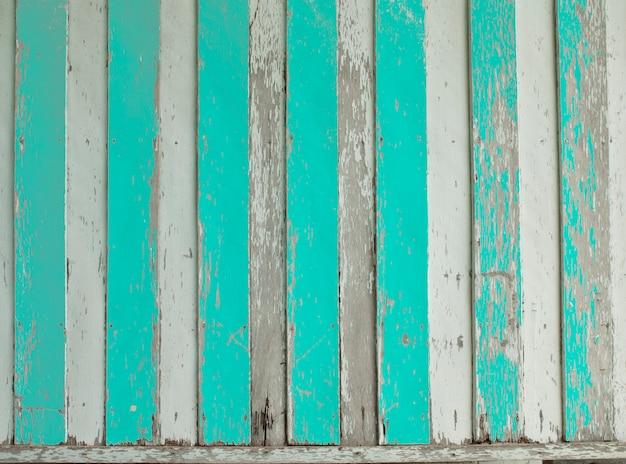 Vieux panneaux de bois colorés de grunge utilisés comme arrière-plan