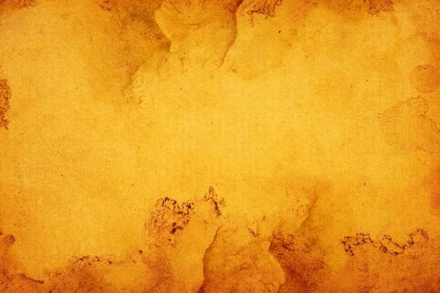 Vieux papier brun grunge pour le fond