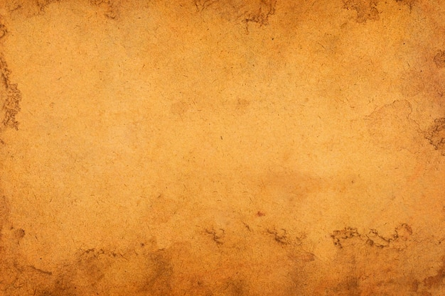 Vieux papier brun grunge pour le fond.