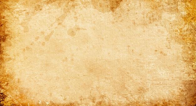 Vieux papier brun