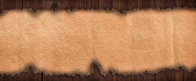 Vieux papier de texture sur la table de planche, fond de haute résolution