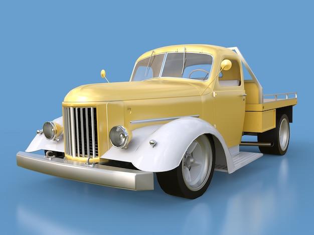Vieux pick-up restauré