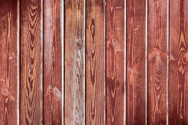 Vieux rouge en bois peint texture ou fond