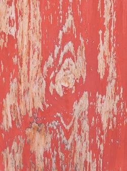Vieux rouge texture de bois fond minable