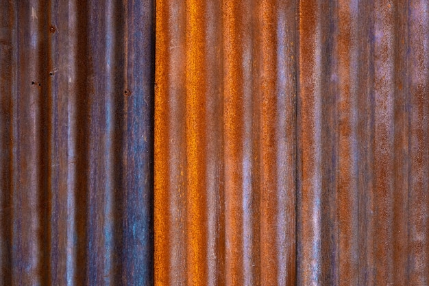 Vieux texture grunge de zinc rouillé, texture de zinc vintage pour le fond
