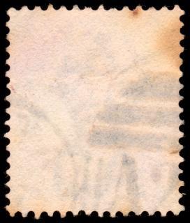 Vieux timbre vierge grunginess