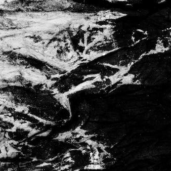 Vieux tissu noir et blanc avec espace copie
