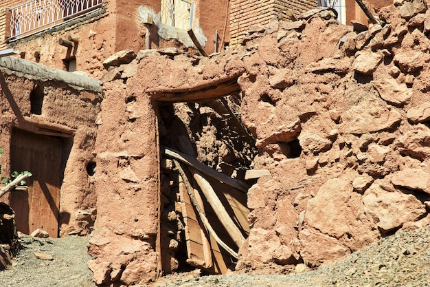 Vieux village abyaneh en iran