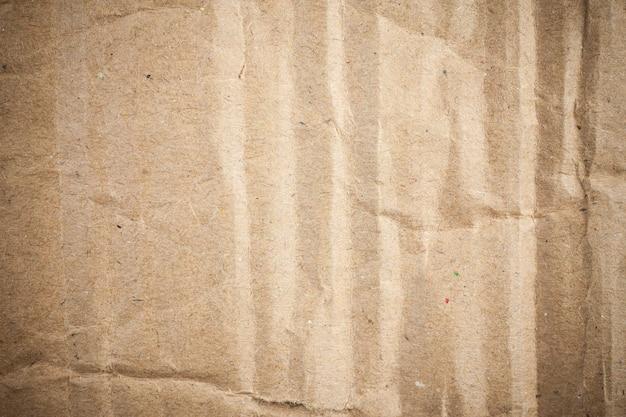 Vignette de fond de papier brun en carton