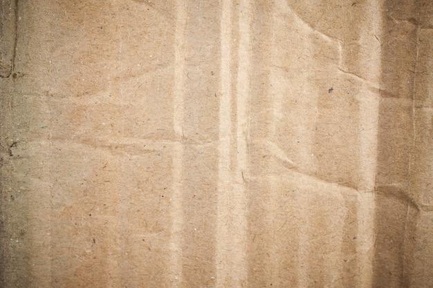 Vignette de fond de papier brun en carton.