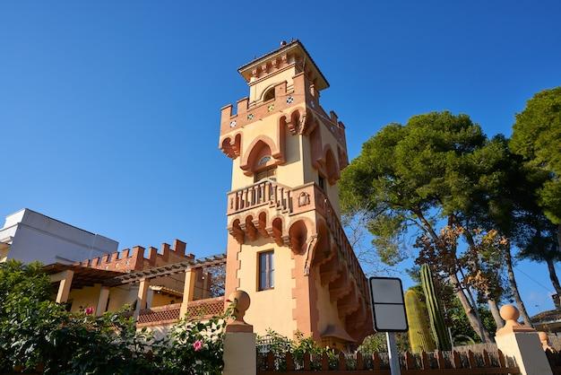 Villa torre maisons de héritage à benicassim