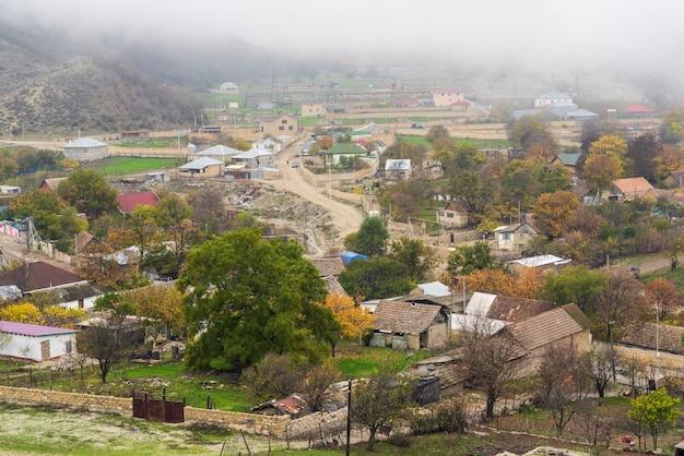 Village d'altiagach en azerbaïdjan