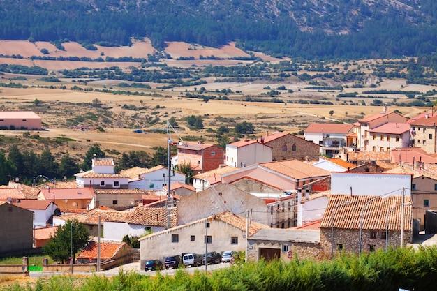 Village d'aragon. frias de albarracin