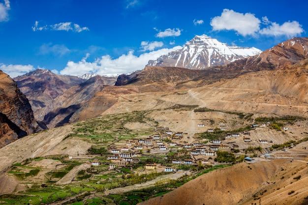 Village dans l'himalaya