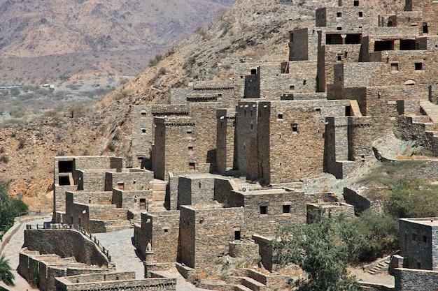 Le village historique d'al ain en arabie saoudite