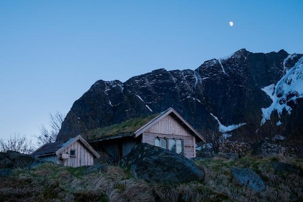 Village des lofoten en norvège