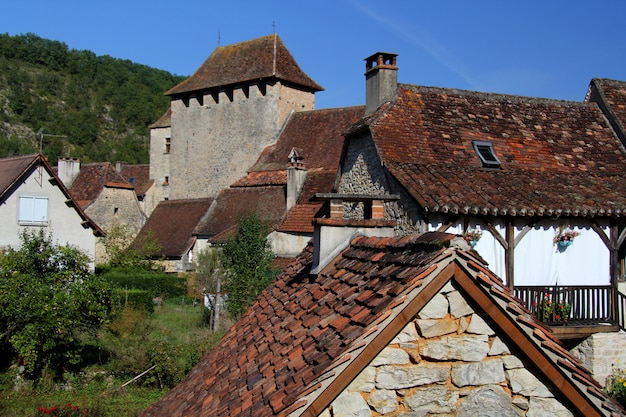 Village médiéval de saint martin de vers, lot