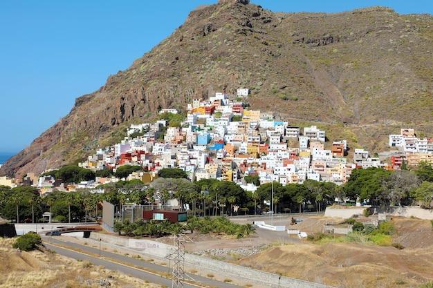 Village de san andres sur l'île de tenerife