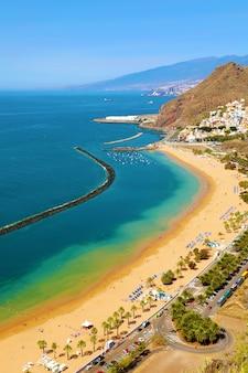 Village de san andres et plage de las teresitas, tenerife, espagne