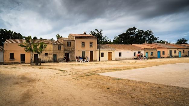 Village de san salvatore en sardaigne