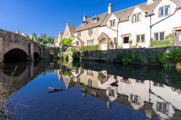 Villages cotswolds en angleterre uk