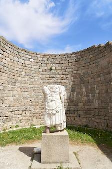 Ville antique de l'acropole, pergame (bergame) turquie