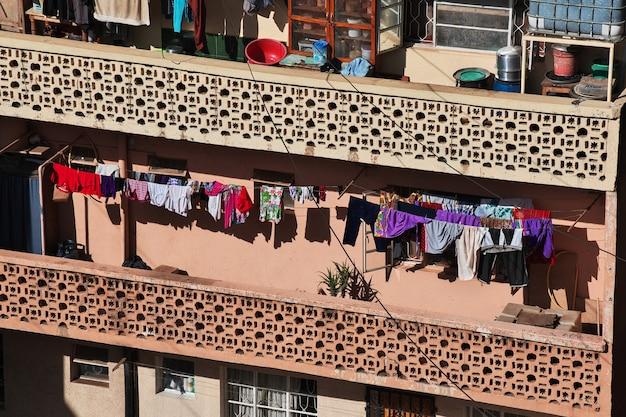 Ville d'arusha en tanzanie, afrique
