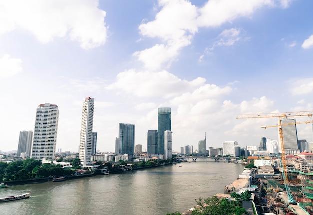 Ville de bangkok en thaïlande