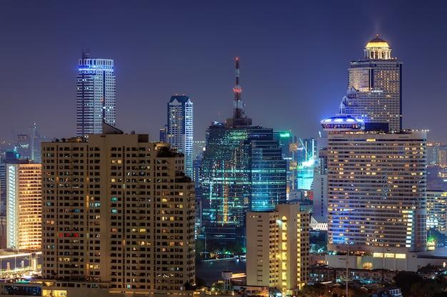 La ville de bangkok.