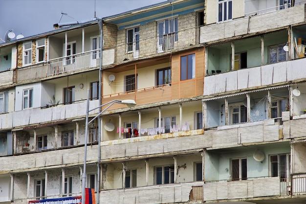 Ville de chouchi dans le nagorno - karabakh, caucase